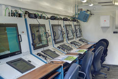 Item vectoring fighter aircraft Stock Photos