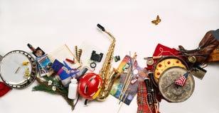 Items al aire libre del festival Fotos de archivo libres de regalías