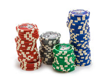 Items from the casino Stock Image
