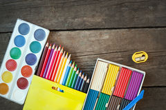 Items for children's creativity Royalty Free Stock Photos