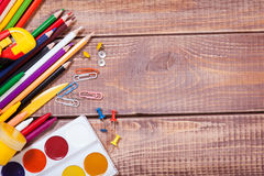 Items for children's creativity Royalty Free Stock Image