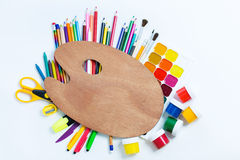 Items for children's creativity Stock Images