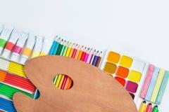 Items for children's creativity Stock Photos