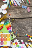 Items for children's creativity Royalty Free Stock Photography