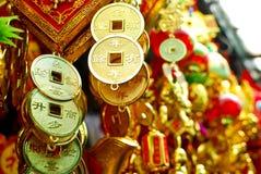 Items chinos de la decoración del Año Nuevo Foto de archivo libre de regalías