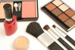 Items cosméticos Foto de archivo