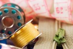 Items de costura fotos de archivo libres de regalías