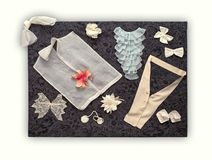 Items de Fashon Imágenes de archivo libres de regalías