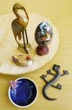 Items de la artesanía de Bali fotografía de archivo libre de regalías