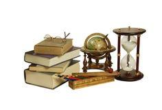 Items de la escuela Imagen de archivo libre de regalías