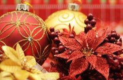Items de la Navidad Imágenes de archivo libres de regalías