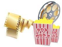Items de la película Imagen de archivo