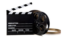 Items de la película de Hollywood fotografía de archivo libre de regalías