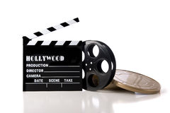Items de la película de Hollywood Imágenes de archivo libres de regalías