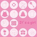 Items del bebé Fotos de archivo libres de regalías