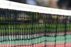 Items del campo de tenis net Fotos de archivo