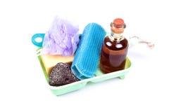 Items del cuarto de baño Imagenes de archivo