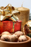 Items del día de fiesta Imágenes de archivo libres de regalías