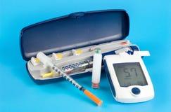 Items diabéticos imagenes de archivo