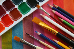 Items for drawing Royalty Free Stock Images