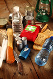 Items for emergency Stock Image