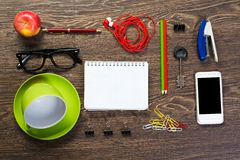 Items laid on the table, still life Royalty Free Stock Image