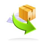 Items libres del envío del vector Fotografía de archivo libre de regalías