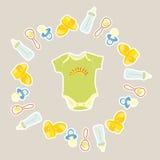 Items for newborns Stock Photo