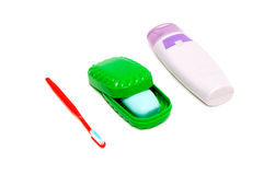 Items for personal hygiene Royalty Free Stock Image