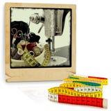 Items que hacen punto Imagen de archivo libre de regalías