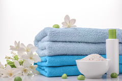 Items for relaxation stock photo