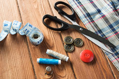 Items for sewing or DIY Stock Photo