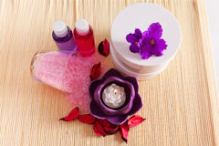 Items for spa and relaxation Stock Photos