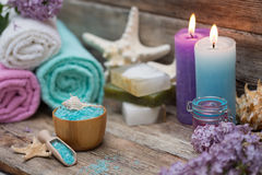 Items for spa Stock Photos