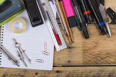 Items of Stationery Stock Images