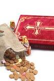 Items tradicionales de Nicholas del santo foto de archivo libre de regalías