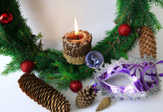 Items of winter holidays Royalty Free Stock Photography