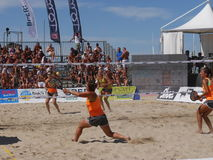 ITF Beach Tennis World Championship 2016 – Ladies Double Final Stock Photos