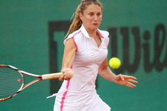 ITF Tennis, Ana Jovanovic Royalty Free Stock Photography