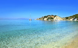 Ithaca beach Greece Royalty Free Stock Photography