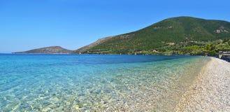 Ithaca beach Ionian islands Greece Stock Image