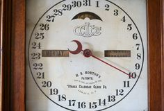 Ithaca 8 day  10 Farmers Clock New $18.00 Royalty Free Stock Photo