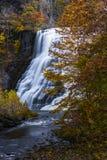 Ithaca Falls - Ithaca, New York Fotografie Stock Libere da Diritti