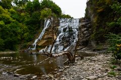 Ithaca Falls. Ithaca, NY. View of Ithaca falls Stock Photo