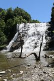 Ithaca Falls, a waterfall in New York`s Finger Lakes Region stock photo