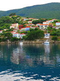 Ithaca, Griechenland lizenzfreie stockbilder