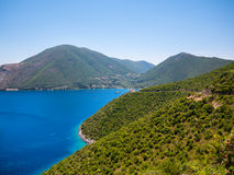 Ithaca island in Greece Royalty Free Stock Photography