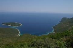 Ithaca - la Grecia Fotografia Stock