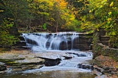 Ithaca Waterfall Stock Photography