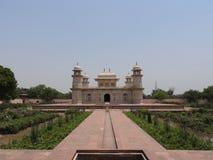 Itimad-ud-Daul,小的泰姬陵,阿格拉,印度坟茔  库存图片